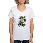 Carolina Parakeet Women's V-Neck T-Shirt