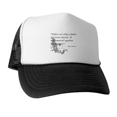 Math vs. Politics Trucker Hat