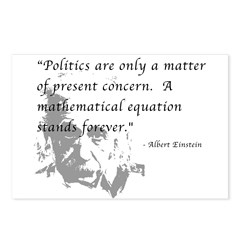Math vs. Politics Postcards (Package of 8)