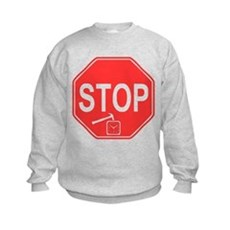 Stop! Hammer Time! Kids Sweatshirt