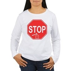 Stop! Hammer Time! Womens Long Sleeve T-Shirt