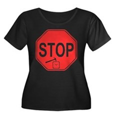 Stop! Hammer Time! Womens Plus Size Scoop Neck Da