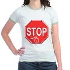 Stop! Hammer Time! Jr Ringer T-Shirt