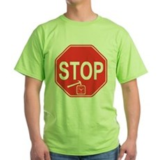 Stop! Hammer Time! Green T-Shirt