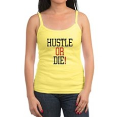 Hustle or Die! Jr Spaghetti Tank