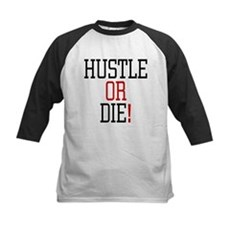 Hustle or Die! Kids Baseball Jersey