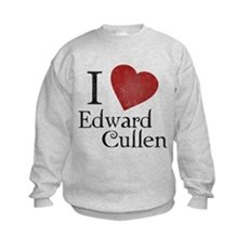 I Love Edward Cullen Kids Sweatshirt