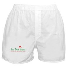 I'm Not Santa Boxer Shorts