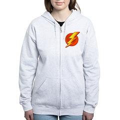 Superhero Women's Zip Hoodie