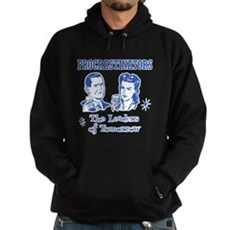 Procrastinators: Leaders of T Dark Hoodie