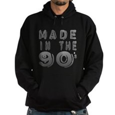 Made in the 90's Dark Hoodie