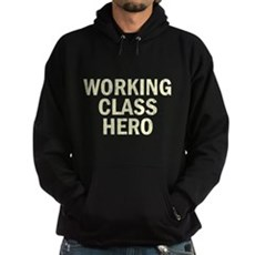 Working Class Hero Dark Hoodie