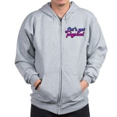 Let's get physical Zip Hoodie