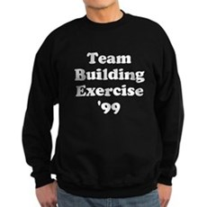 Team Building Exercise '99 Dark Sweatshirt
