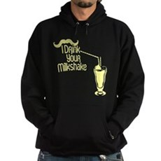 I Drink Your Milkshake Dark Hoodie