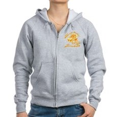 The Rhythm of the Movement Womens Zip Hoodie