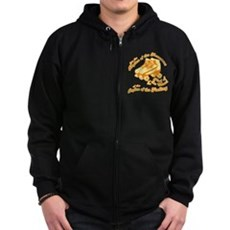The Rhythm of the Movement Zip Dark Hoodie
