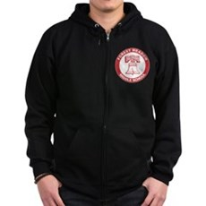 Forest Meadow Middle School Zip Dark Hoodie