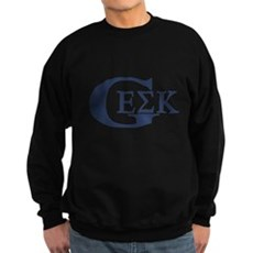 Geek House Fraterntiy (GEK) Dark Sweatshirt