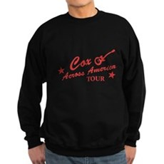Cox Across America Tour Dark Sweatshirt