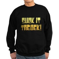 Suck it Trebek! Dark Sweatshirt