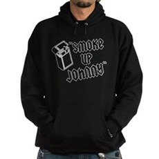 Smoke Up Johnny Dark Hoodie