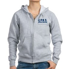 P.H.S. Physical Education Womens Zip Hoodie