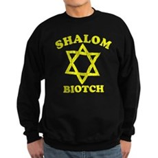 Shalom Biotch Dark Sweatshirt
