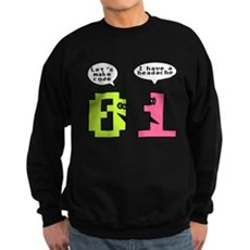 Opposites Attract Dark Sweatshirt