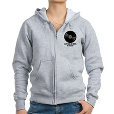DJ's Do It With 12 Inches Womens Zip Hoodie
