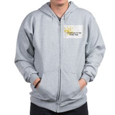 I'll take you to the candy sh Zip Hoodie