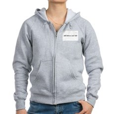 How Could I Say No? Womens Zip Hoodie