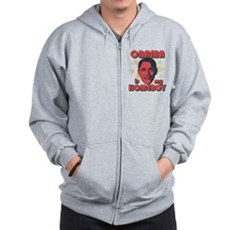 Obama is my Homeboy Zip Hoodie