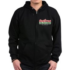 FESTIVUS™ for the rest-iv-us Zip Dark Hoodie
