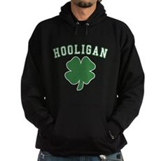 Irish Hooligan Dark Hoodie