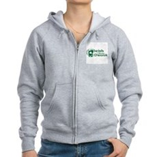Irish I Were Drunk Womens Zip Hoodie