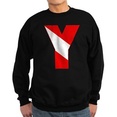 http://i2.cpcache.com/product/335131397/scuba_flag_letter_y_sweatshirt.jpg?color=Black&height=240&width=240