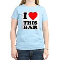 I Love This Bar Womens Light T-Shirt