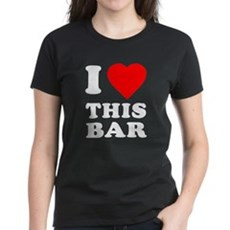 I Love This Bar Womens T-Shirt