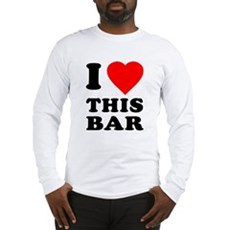 I Love This Bar Long Sleeve T-Shirt