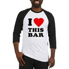 I Love This Bar Baseball Jersey