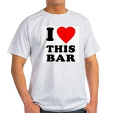 I Love This Bar Light T-Shirt