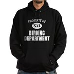 Property of Birding Dept. Hoodie (dark)