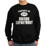 Property of Ringing Dept. Sweatshirt (dark)
