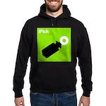 iPish (green) Hoodie (dark)