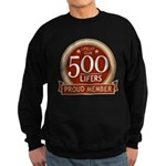 Lifelist Club - 500 Sweatshirt (dark)