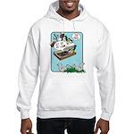 Squirrels, Get Off My Lawn! Hooded Sweatshirt