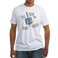 You Spin Me Right Round Fitted T-Shirt