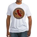 California Birder Fitted T-Shirt