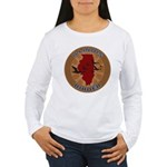 Illinois Birder Women's Long Sleeve T-Shirt